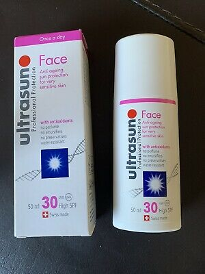 £10.02 • Buy ULTRASUN Face Anti-Ageing High SPF30 With Antioxidants 50ml - NEW In Box