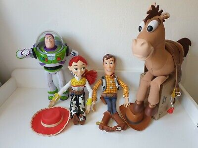 £49.99 • Buy Toy Story Collection Woody Jessie Buzz Lightyear Bullseye Action Figure Dolls