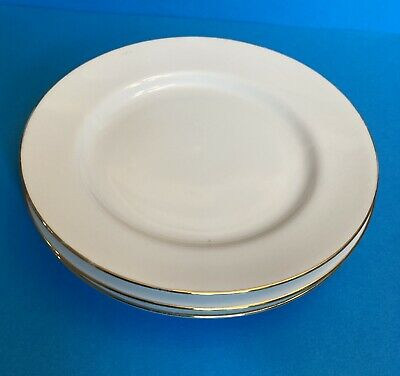 £12 • Buy A Set Of Four Royal Worcester Classic Gold Dinner Plates