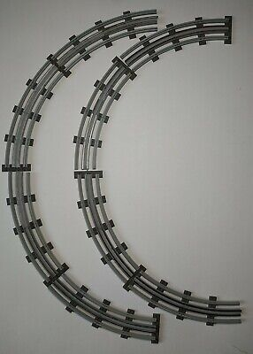 £16 • Buy Lego Vintage 12v Curved Track - 16 Sections - Complete Circle