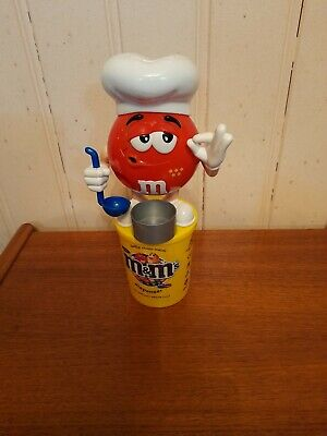 £6.99 • Buy M&M's Red Chef Sweet/Candy Dispenser