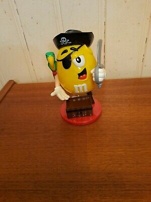 £6.99 • Buy M&M's Yellow Pirate Sweet/Candy Dispenser