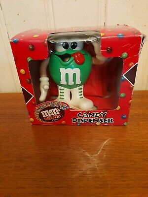 £9.99 • Buy M&M's Green Sweet/Candy Dispenser New And Boxed