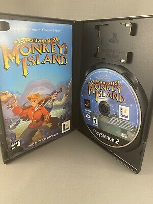 £7.09 • Buy Escape From Monkey Island PS2 (Sony PlayStation 2, 2001) Complete W/ Manual