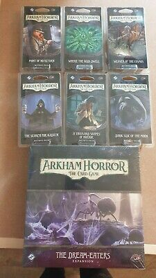 £134.99 • Buy Dream Eaters By FFG Complete Cycle For Arkham Horror LCG. New And Sealed.