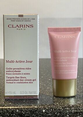 £8.99 • Buy Clarins Multi Active Jour Day Cream - Gel Boxed And Sealed