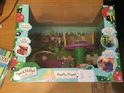 £58.98 • Buy Ben And Holly Playset Wise Elf Nanny Plum Limousine Royalty Playset