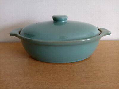£17.99 • Buy Denby Manor Green Oval Eared Casserole Dish With Lid - 1.75 PT - Set A