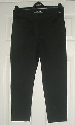 £6.50 • Buy Marks And Spencer Black Crop Jeans Size 12