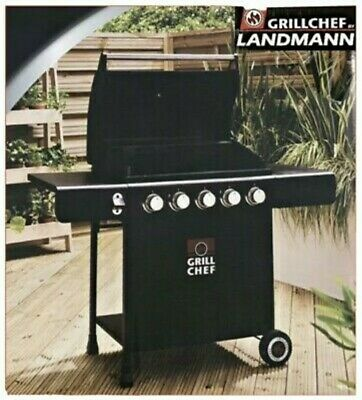 £250 • Buy Grill Chef Landmann 5 Burner Gas BBQ Grill   Brand New Boxed   Fast Delivery 🚚