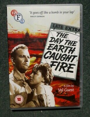 £4.99 • Buy The Day The Earth Caught Fire DVD (2014) Edward Judd  Leo Mckern  Val Guest