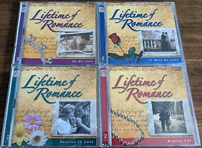 £14.99 • Buy Lifetime Of Romance 8 CDs-It Must Be Love/Be My Love/Falling In Love/Missing You