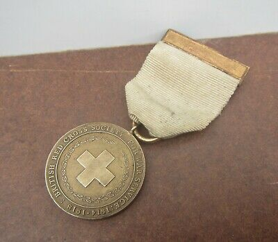 £5.99 • Buy Old WW1 British Red Cross Society For War Services 1914-1918 Medal