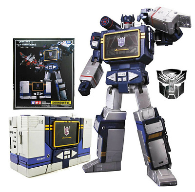 $40.50 • Buy Takara Tomy MP-13 MASTERPIECE SOUNDWAVE Action Figure Toys In Stock MISB