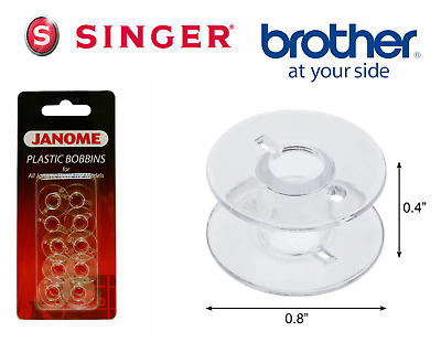 £3.99 • Buy BOBBINS SEWING MACHINE PLASTIC Suitable For SINGER, JANOME ,BROTHER & OTHERS