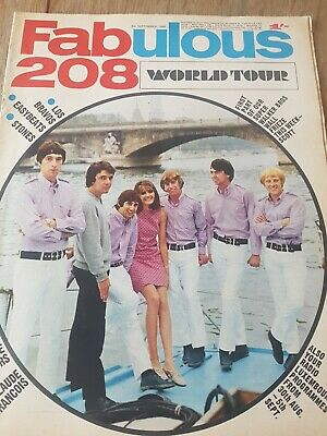 £3.20 • Buy Fabulous 208 Magazine September 3rd 1966.  Very Good Condition