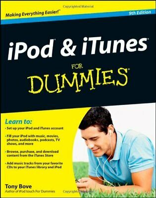 AU20.08 • Buy IPod & ITunes For Dummies (For Dummies (Computers)) By Tony Bove. 9781118130605