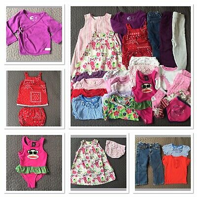 £14.99 • Buy 12-18 Months Baby Girl Clothes Bundle, 26 Items, Monsoon H&M M&S Paul Frank