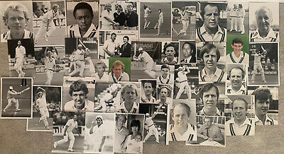 £55.95 • Buy 40 X Worcestershire Cricket Press Photos Includes Dilley,botham Etc