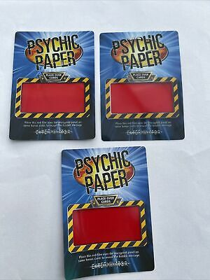 £3 • Buy Doctor Who Battles In Time Collectors Cards 2006 Rare Lot X 3 Psychic Paper