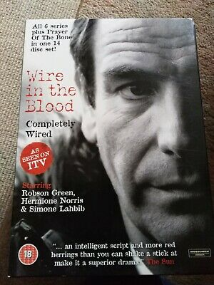 £6 • Buy Wire In The Blood - Completely Wired (DVD) Season 1, 2, 3, 4, 5, 6