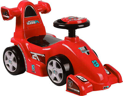 £9.99 • Buy Kids Toy Car Push Along Boys Girls Toddlers My,. First Ride 4 Wheels Red Walker