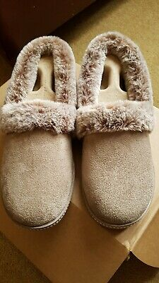£29.99 • Buy Skechers Cali Cozy Campfire Team Toasty Slippers, Dark Taupe, Size Uk 5 - New