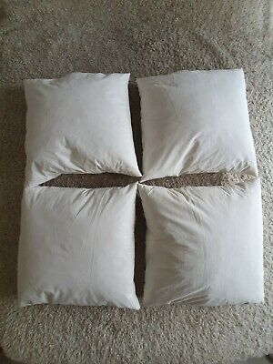 £5 • Buy Feather Cushion Inners, 4 Pack, 50cm X 50cm