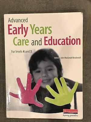 £5 • Buy Advanced Early Years Care And Education Levels 4 And 5