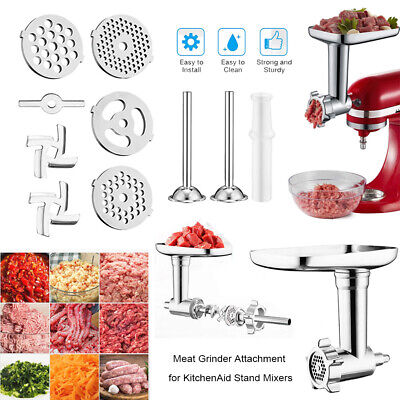 £19.99 • Buy Meat Grinder Sausage Stuffer Attachment For KitchenAid Stand Mixers Accessories
