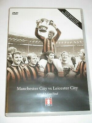 £10 • Buy 1969 FA CUP Final DVD Manchester City V Leicester Full Match + 1956 Wembley RARE