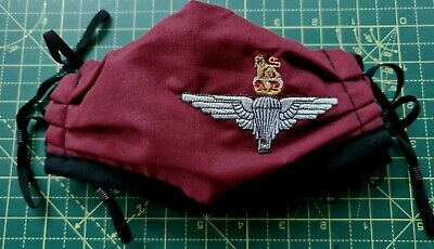 £7.50 • Buy Parachute Regiment Handmade Embroidered Face Mask
