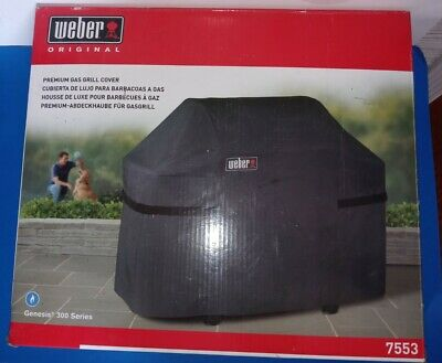 $ CDN54.78 • Buy Weber Gas Grill Cover For Genesis 300 Bbq Series New In Box Model 7553 Premium