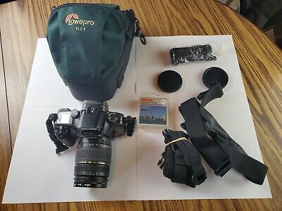 £88.50 • Buy Canon Eos Elan 7 With 28-300mm Tamron Lens And Accessories FILM Camera
