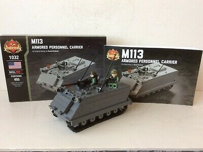 $125 • Buy Brickmania Vietnam US M113 Armored Personnel Carrier W/ Figures Mint New
