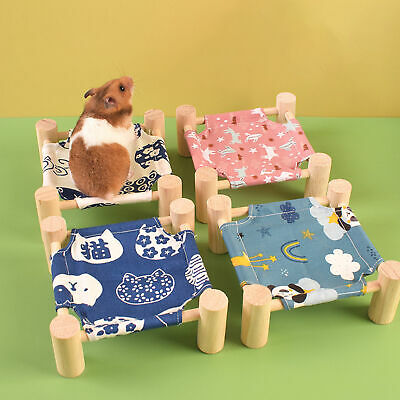 £3.68 • Buy 1 Set Small Animal Bed Moveable Design Breathable Compact Beautiful For Sleeping