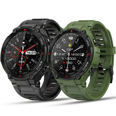 AU59.99 • Buy Smart Watch Rugged Military Style Outdoor Sports Heart Rate Fitness Tracker Call