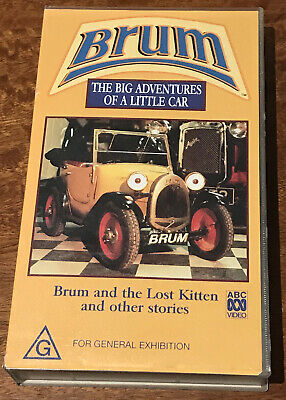 £26.56 • Buy Brum & The Lost Kitten And Other Stories VHS Video Tape ABC Kids Rare