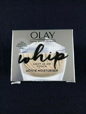 AU18.82 • Buy Brand New Olay Total Effects Whip Light As Air Touch  Moisturiser  7 Benefits In