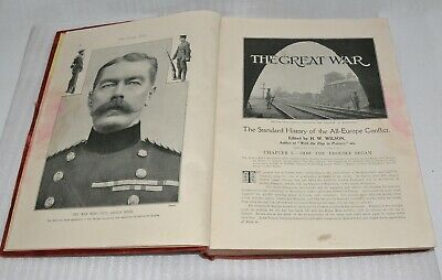 £2.99 • Buy The Great War Vol1 The Standard History Of All Europe Conflict1914 By H.W.Wilson