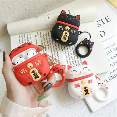 AU10.99 • Buy For AirPods 1 2 3 AirPods Pro Case Cover - Lucky Cat - 3D Cute Cartoon Character
