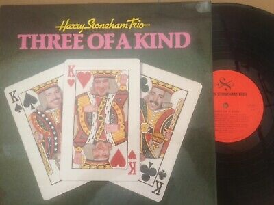 £5.60 • Buy Harry Stoneham Trio Three Of A Kind 1980 Hjs Records 12  Lp Hjs 001