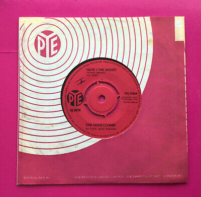 £5.99 • Buy E838, Have I The Right, The Honeycombs, 7  45rpm Single, Excellent Condition