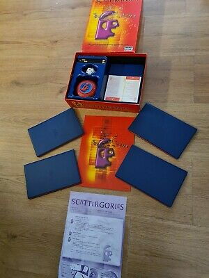 £9.99 • Buy SCATTERGORIES The Game Of Quickfire Answers Against The Clock Parker/Hasbro 2003