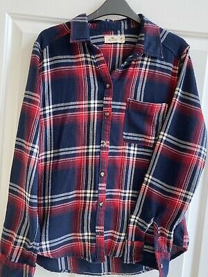 £1 • Buy Hollister Ladies Checked Shirt