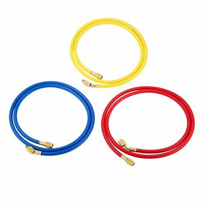 £24.19 • Buy 3pcs AC Charging Hoses R134a R410a For Air Conditioning Refrigerant 1/4  SAE UK