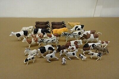 £3.99 • Buy Collection Of Britains Plastic Cow, Bull, Calf Models - Various Sizes.