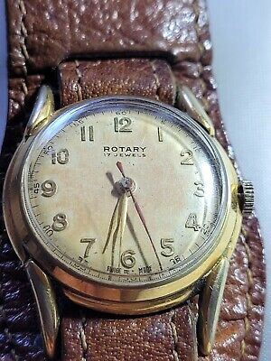 £33.99 • Buy Vintage Rotary 17 Jewels Swiss Made Manual Wristwatch