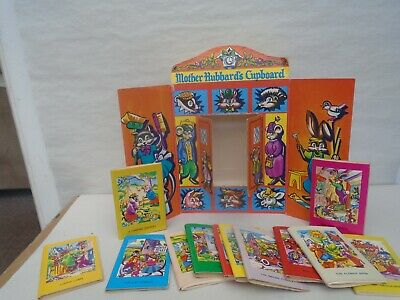 £0.99 • Buy MOTHER HUBBARDS CUPBOARD  Vintage 1960's Miniature Childrens Book Collection WOW