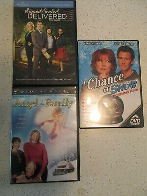 AU7.58 • Buy Hallmark Signed Sealed Delivered Series+angel In Family+chance Of Snow~all 3 Dvd